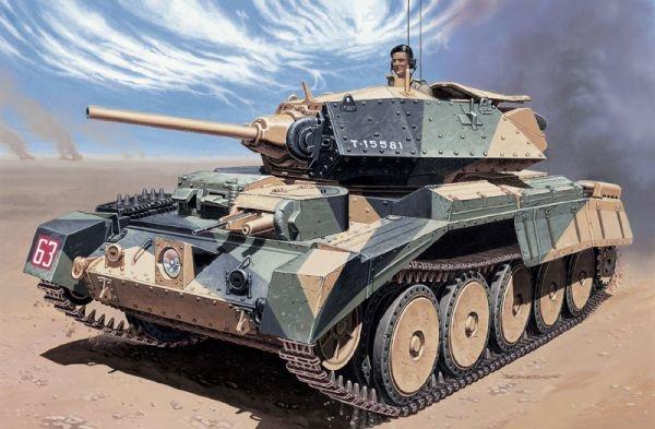 Byggmodell tanks  - Crusader Mk.I - 1:35 - IT