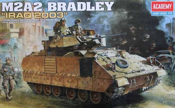 Byggmodell tanks  - M3A2 Bradley O.I.F - 1:35 - AC