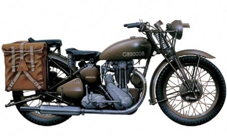 Motorcykel byggmodell - Triumph 3Hw Solo - 1:9 - IT