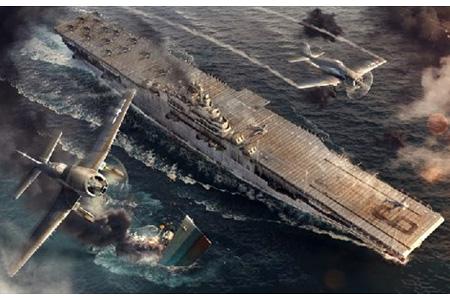 Stridsfartyg - U.S.S. ESSEX - World of warships - 1:700 - IT