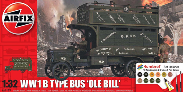 Byggmodell - WWI Old Bill Bus - 1:32 - AirFix