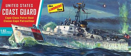 Byggmodell krigsskepp - US Coast Guard Patrol Boat - 1:82 - LB