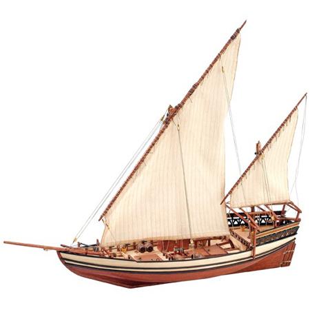 Byggsats båt trä - Sultan arab dhow - 1:60 - ArtS