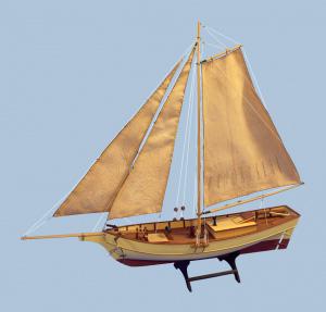 Byggmodell båt trä - Bosphurus - Fishing Cutter - 1:50 - TM