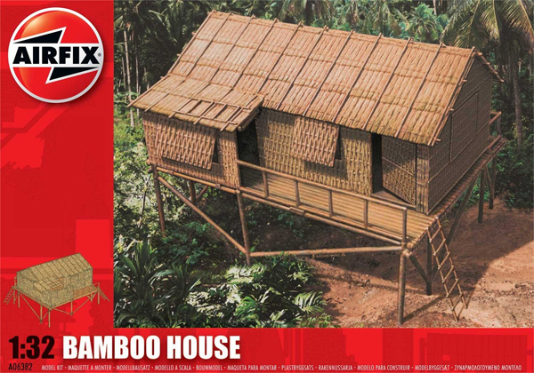 Byggmodell - Bamboo House - 1:32 - Airfix