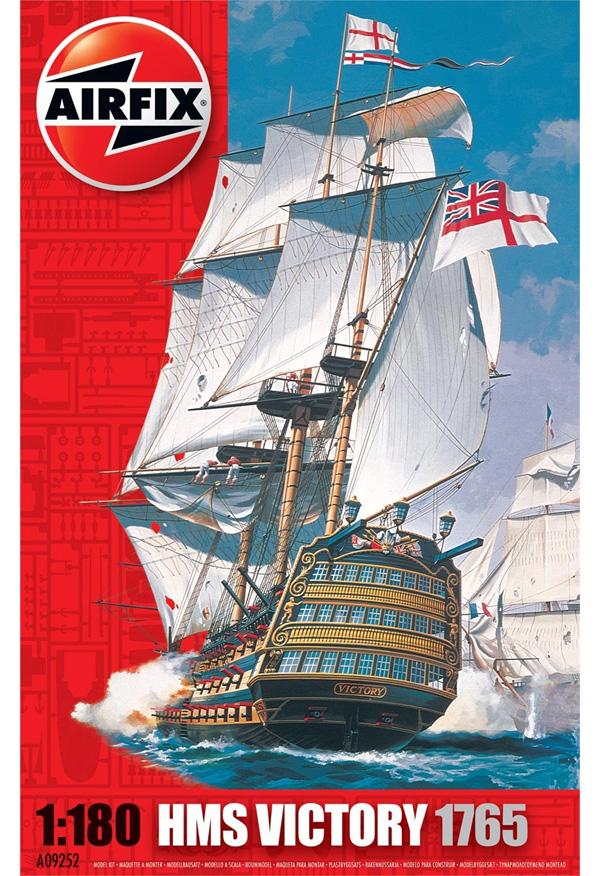 Byggmodell segelfartyg - HMS Victory - 1:180 - Airfix