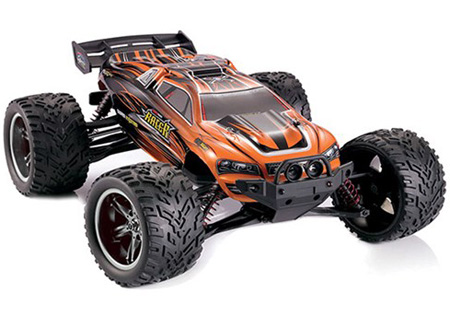 Radiostyrd bil - 1:12 - Wild Truggy 2WD - 2,4Ghz - Orange - RTR