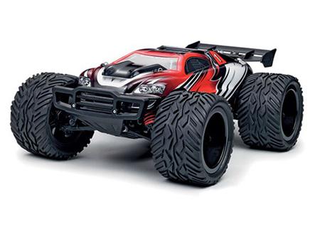 Radiostyrd bil - 1:12 - BZ Stadium Truck 4WD - 2,4Ghz - röd/svart - RTR