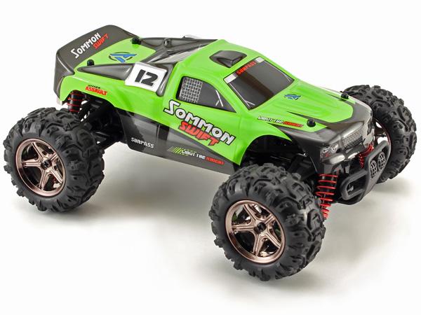 Radiostyrd bil - 1:24 - Sommon Swift 4WD - 2,4Ghz - RTR