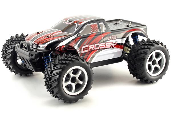 Radiostyrd bil - 1:18 - Crossy 4WD - 2,4Ghz - RTR