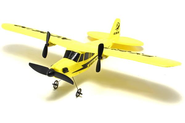 Radiostyrt flygplan - Piper J-3 Cub Gul - FX - RTF
