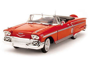 Byggmodell bil - Chevy Impala Convertible 1958 - EASY BUILD - 1:24 - TE