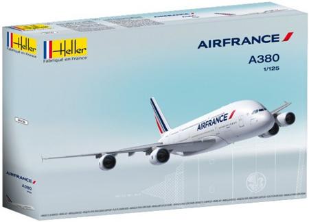 Byggmodell flygplan - A380 Air France - 1:125 - HE