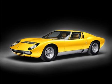 Byggmodell bil - Lamborghini Miura - 1:24 - IT