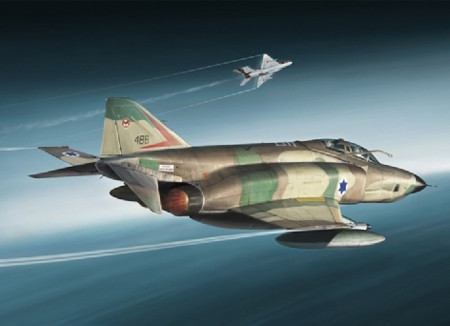 Byggmodell flygplan - RF-4E Phantom - 1:48 - IT