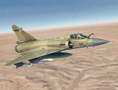 Flygplansbyggmodell - Mirage 2000C - 1:72 - IT