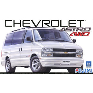 Byggmodell bil - Chevrolet Astro LT 4WD - 1:24 - FU