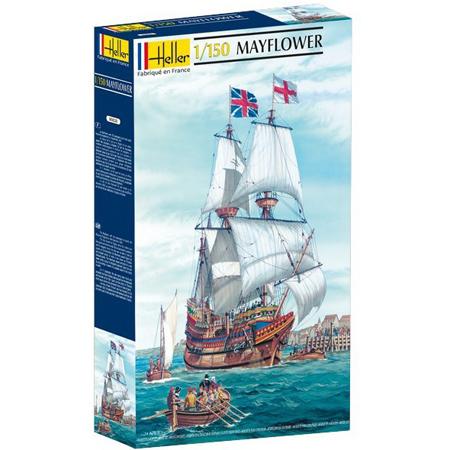 Byggmodell segelbåt - Mayflower - 1:150 - HE