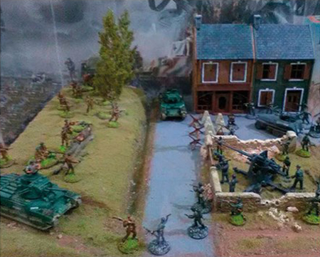 Byggmodell - WWII BATTLESET ? ROMMEL OFFENSIVE 1940 - IT