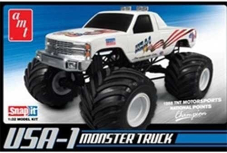 Byggmodell bil - USA-1 4X4 Monster Truck - Snap - 1:32