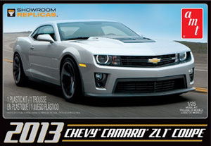 Byggmodell bil - 2013 Chevy Camaro ZL-1 Showroom Replica - 1:25 - Amt