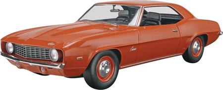 Byggmodell bil - 69 Camaro ZL-1 - 1:25 - RE