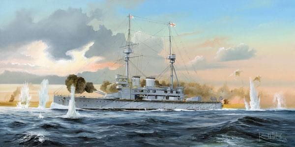 Byggmodell krigsfartyg - HMS Lord Nelson - 1:350 - HB