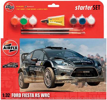 Byggmodell bil - Ford Fiesta RS WRC - 1:32 - Airfix