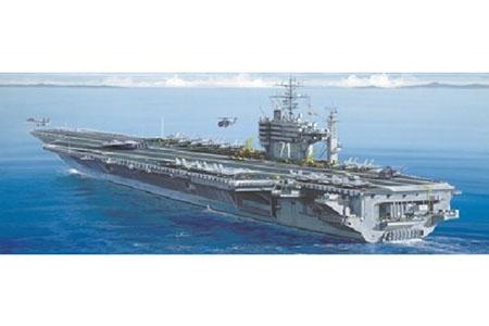 Byggmodell krigsfartyg - U.S.S. Roosevelt CV-71 - 1:720 - IT