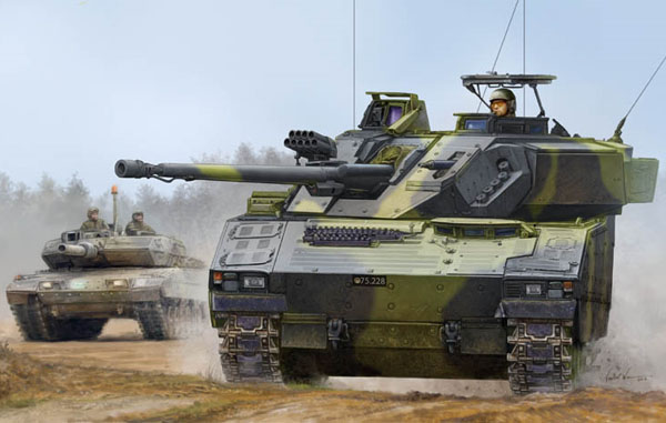 Byggmodell stridsvagn - Swedish CV9035 IFV - 1:35 - HB