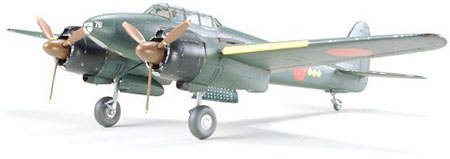 Byggmodell flygplan - Gekko Type 11 Late Production - 1:48 - Tamiya