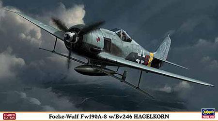 Byggmodell flygplan - FW190A-8 w/BV 246 Hagelkorn - 1:48 - Hg