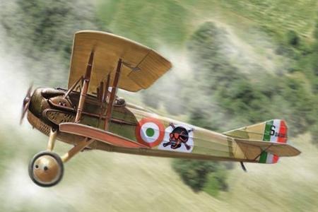 Byggmodell flygplan - Spad S. XIII - 1:72 - IT