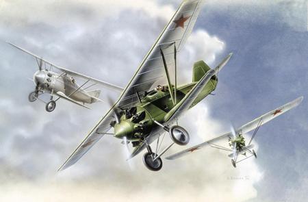 Byggmodell flygplan - ANT-5 Fighter - 1:72 - Zv