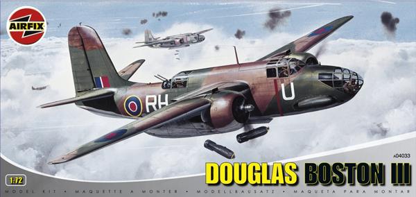 Byggmodell flygplan - Douglas Boston III - 1:72 - Airfix