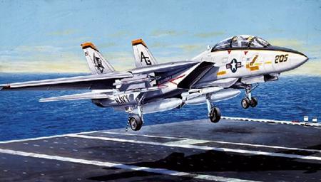 Byggmodell flygplan - F-14 A Tomcat - 1:72 - IT