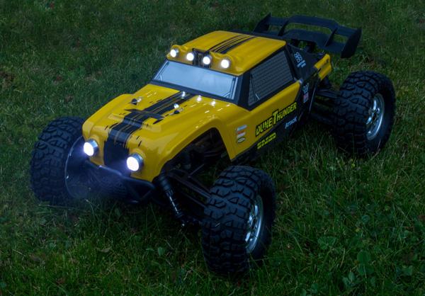 Radiostyrda bilar - 1:12 - HBX Survivor Dune Thunder - 2,4Ghz - RTR