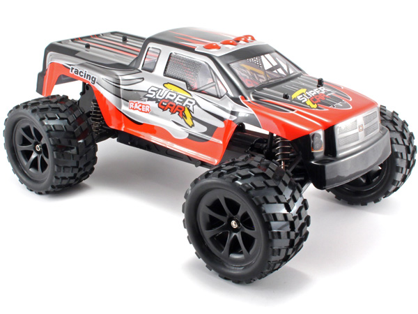 Radiostyrd bil - 1:12 - Terminator 2WD BL - 2,4Ghz - RTR