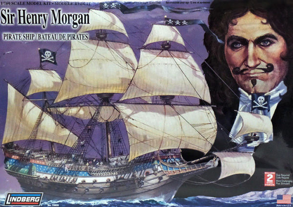 Byggsats Segelbåt - Sir Henry Morgan - 1:160 - Lindberg