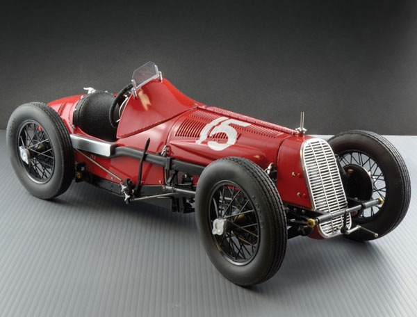 Byggmodell bil - FIAT 806 Grand Prix - 1:12 - IT