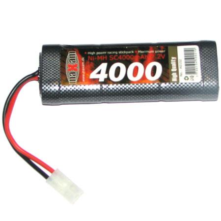 Batteri NiMH - 7,2V 4000mAh - MaXam