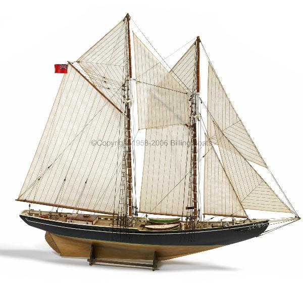 Byggsats båt trä - Bluenose 576 - 1:100 - BB