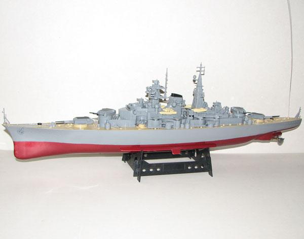 Radiostyrda båtar - Bismarck - Slagskepp - 1:360 - RTR