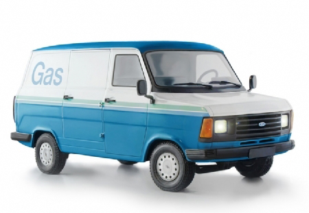 Byggmodell bil - Ford Transit Mk. 2 - 1:24 - IT