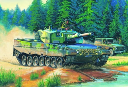 Byggmodell Stridsvagn - German Leopard 2 A4 - HobbyBoss - 1:35