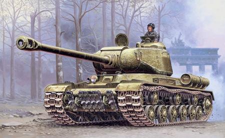 Byggmodell Stridsvagn - JS-2 Stalin - 1:72
