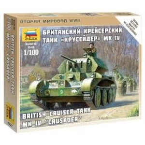 Byggsats Stridsvagn - British Tank Crusader Mk. IV - 1:100