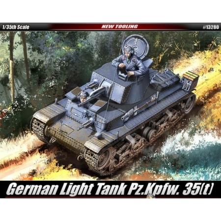 Byggsats Stridsvagn - Panzerkampfwagen 35 (t) - 1:35