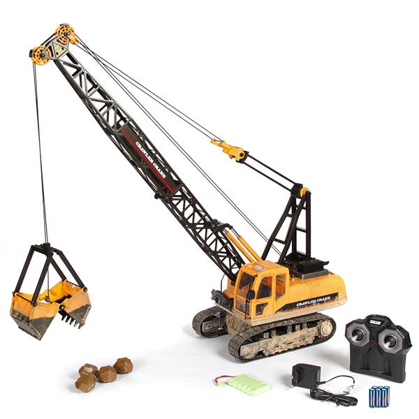 Radiostyrda arbetsfordon - 1:12 Cable excavator - Premium - 2,4Ghz - RTR