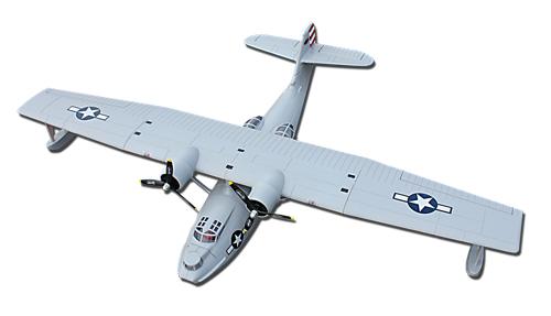 Flygplan - Catalina BL V2 Blå - Borstlöst system - 4ch - DY - 2,4Ghz - SRTF